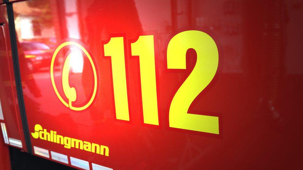 Die Feuerwehr im Einsatz. Symbolfoto: Wallenhorster.de