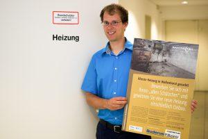 """Auf der Suche nach """"alten Schätzchen"""": Wallenhorsts Klimaschutzmanager Stefan Sprenger. Foto: Gemeinde Wallenhorst / André Thöle"""