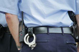 Die Polizei im Einsatz. © Symbolfoto: Pixabay / cocoparisienne