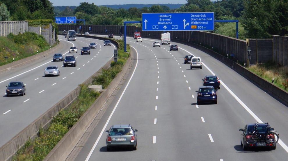 Autobahn A1 bei Wallenhorst. Symbolfoto: Wallenhorster.de