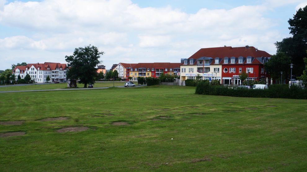 Grüne Wiese oder in Zukunft doch eine Bebauung im Zentrum von Wallenhorst? Foto: Wallenhorster.de