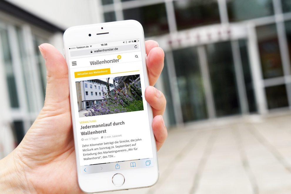 Alles im Blick: Die Onlinezeitung für Wallenhorst. Foto: Wallenhorster.de