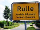Ortsschild in Rulle. Symbolfoto: Wallenhorster.de