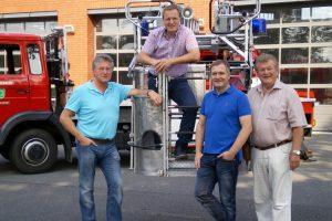 v.l.n.r.: Hubert Pohlmann, Martin Lange, Guido Pott, Alfons Schwegmann. Foto: SPD Wallenhorst