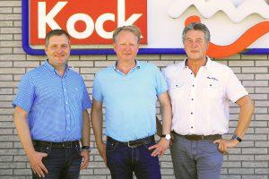 v.l.n.r.: Guido Pott, Gerd Kock, Hubert Pohlmann. Foto: SPD Wallenhorst