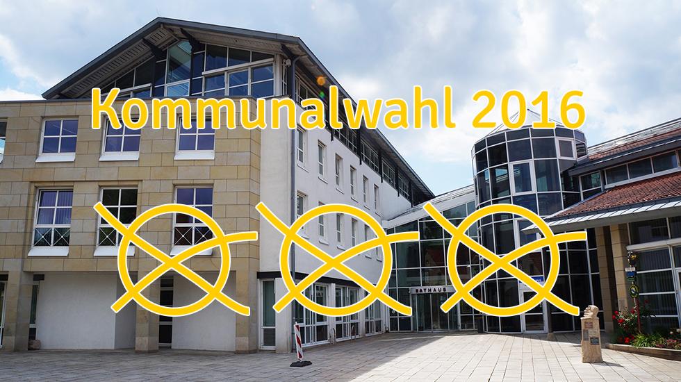 Informationen zur Kommunalwahl 2016. Foto: Wallenhorster.de