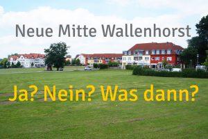 """Ja oder nein zum Projekt """"Neue Mitte Wallenhorst""""? Und was wäre wenn? Foto: Wallenhorster.de"""