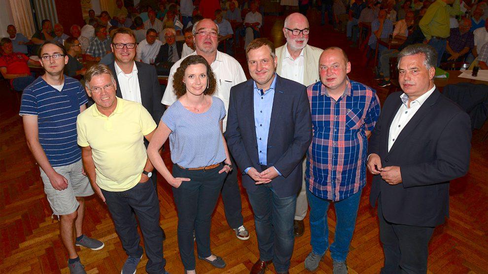 Hörnschemeyer Wallenhorst hart aber fair angeregte diskussion zur kommunalwahl wallenhorst