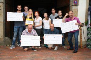 Insgesamt 2.500 Euro wurden von der WWG für Projekte der Jugendarbeit zur Verfügung gestellt. Foto: WWG