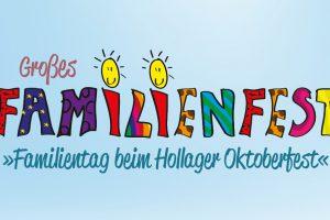Familientag beim Hollager Oktoberfest. Grafik: Kolping Hollage