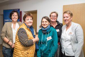 Das Vorbereitungsteam (von links): Monika Thünker, Maria Knüppe, Mona Elbel, Kornelia Böert und Annemarie Schmidt-Remme. Es fehlt Angelika Uhlen. Foto: Gemeinde Wallenhorst / Thomas Remme