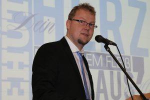 Matthias Wocken als neuer Schulleiter der Thomas Morus Schule. Foto: TMS