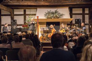 Eine Wallenhorster Weihnachtstradition: Ombre di Luci in der Hofstelle Duling. Foto: Gemeinde Wallenhorst / Thomas Remme