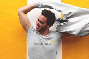Eine tolle Geschenkidee: Mode und Accessoires für Männer mit Wallenhorster Aufdruck...