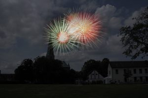 Der Wallenhorster wünscht ein glückliches neues Jahr.
