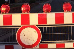 Straßensperrung in Wallenhorst. Foto: Wallenhorster.de