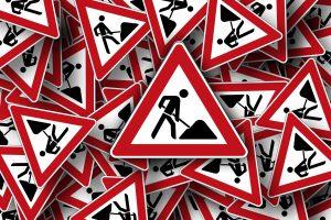 Achtung, Baustelle. Symbolfoto: Pixabay / geralt