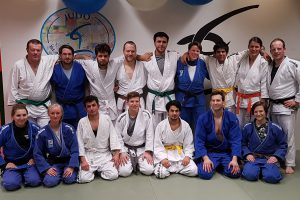 Die Teilnehmer des Trainings. Foto: Blau-Weiss Hollage