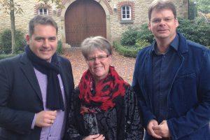 Stefan Botterhuis, Marion Müssen und Stefan Düing von der UWG Wallenhorst (von links). Foto: UWG