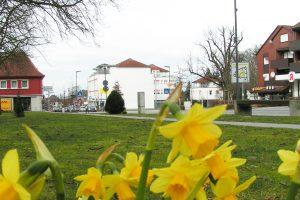 Der Frühling kommt nach Wallenhorst, wie hier an der Großen Straße im Ortskern. Foto: Wallenhorster.de