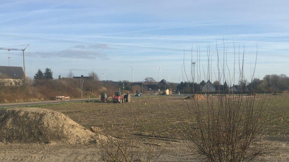 """Die Erschließung des Baugebietes """"Witthügel"""" in Hollage-Ost ist derzeit in Vorbereitung. Foto: Wallenhorster.de"""
