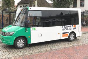 Der Bürgerbus aus Wildeshausen wird bei der Infoveranstaltung auch vor Ort sein. Foto: UWG/W
