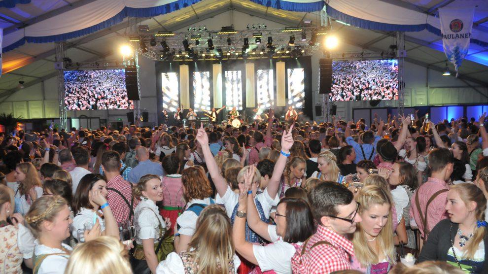 Wie gewohnt bietet die Kolpingsfamilie Hollage ihren Gästen mit dem Oktoberfest wieder ganz großes Kino. Foto: Markus Böwer