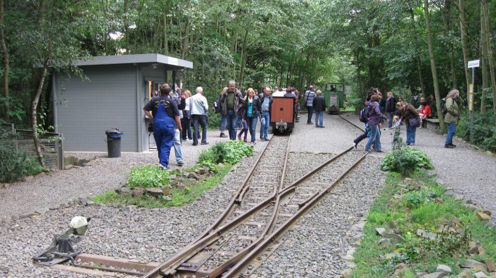 Mit der Feldbahn rund um den Piesberg. Ab 2018 auch bis Wallenhorst Lechtingen. Foto: Stadt Osnabrück, Karl-Heinz Uthmann