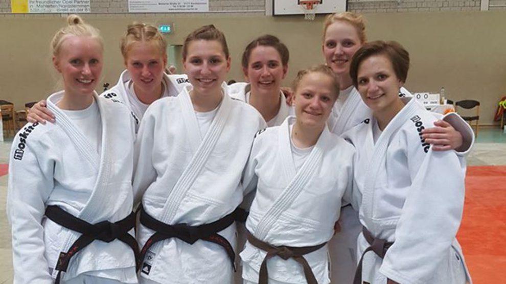 Hörnschemeyer Wallenhorst judo in hollage zweiter kftag der njv liga damen wallenhorst