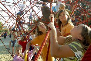 """Spiel und Spaß steht auf dem """"Stundenplan"""", wenn die Kinder in den Ferien zur Schule gehen. Foto: Gemeinde Wallenhorst"""