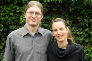 """Christian Hehemann und Janna Kramer eröffnen im August die Tagespflege """"Fuchsbau"""" an der Porschestraße. Foto: Hehemann"""
