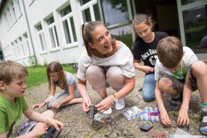 Anne-Marie Kruse vom Energiebüro e&u vermittelt Klimaschutz mit Begeisterung und Praxisbezug. Foto: André Thöle