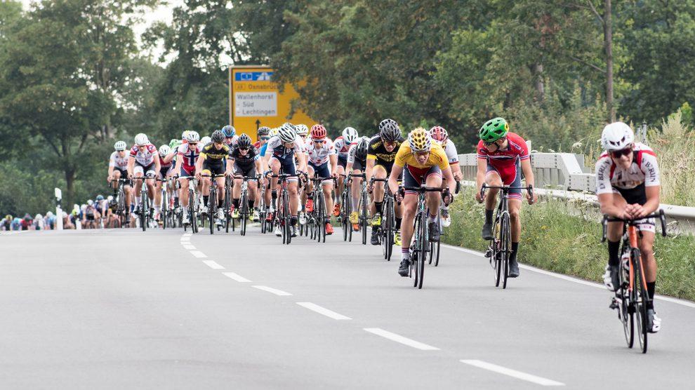 Die künftige Radsportelite tritt bei der internationalen Niedersachsen-Rundfahrt der Radsport-Junioren in Wallenhorst an. Foto: Thomas Remme