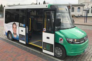 Ein Beispiel für einen Bürgerbus, wie er auch durch Wallenhorst künftig fahren könnte. Foto: UWG Wallenhorst