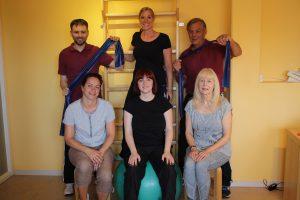 Das Team der Ganzheitlichen integrativen Physiotherapie in Wallenhorst. Foto: GiP Wallenhorst