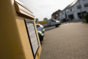 Den Briefkasten in Hollage-Ost finden Postkunden ab sofort im Bereich Am Pingelstrang / Kuckucksweg. Foto: André Thöle