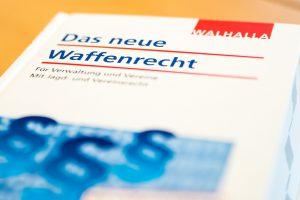 Im Juli 2017 sind Änderungen im Waffenrecht in Kraft getreten, die sich auch auf die Gemeinde Wallenhorst auswirken. Foto: Thomas Remme