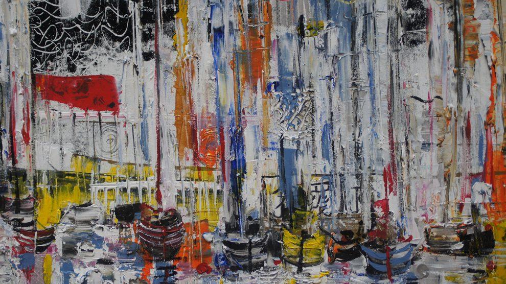 Nach erfolgreichen Ausstellungen in den Kunstmetropolen der Welt zeigt Witold Podgórski seine Bilder im September und Oktober im Rathaus der Gemeinde Wallenhorst. Foto/Bild:Witold Podgórski