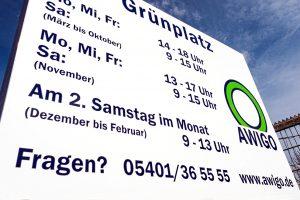 Hobbygärtner im Landkreis werden die veränderten Öffnungszeiten der AWIGO-Grünplätze ab November interessieren. Foto: A. W. Sobott/AWIGO