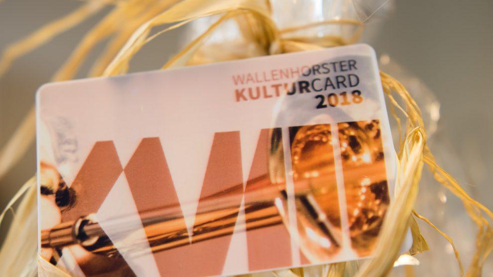 Die Wallenhorster Kulturcard 2018. Foto: André Thöle