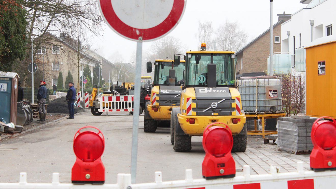 Die Verbindung von der Hollager Straße zur Großen Straße ist vorerst noch gesperrt. Foto: Wallenhorster.de
