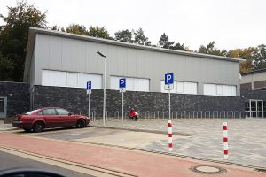 Die neue Trainingshalle am Sportzentrum Benkenbusch ist eröffnet. Foto: Blau-Weiss Hollage