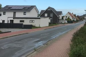 Nicht ungefährlich ist es für Kinder in Hollage-Ost an der Straße Am Pingelstrang. Foto: Wallenhorster.de