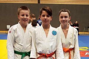 Die Hollager Judoka bei den Landeseinzelmeisterschaften in Visbek. Foto: Blau-Weiss Hollage