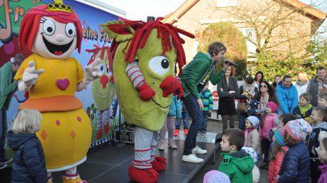 Diesmal ohne Frank. Die Zappeltiershow kommt am Samstag zum Frühlingserwachen nach Lechtingen. Foto: konsequentPR