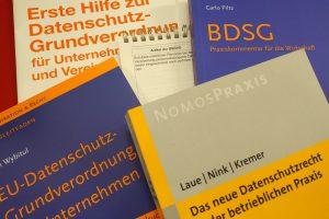 Datenschutzliteratur. Foto: FDP Wallenhorst