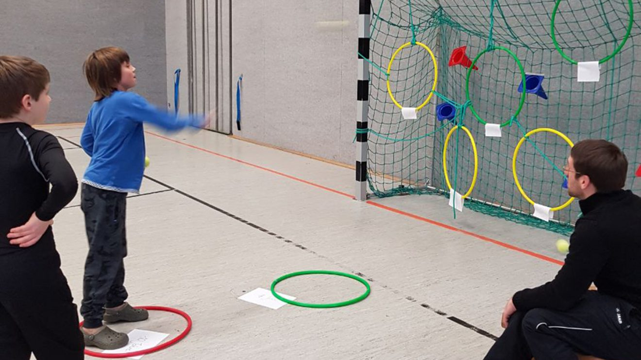 Die Judo-Safari in der neuen Hollager Trainingshalle. Foto: Blau-Weiss Hollage