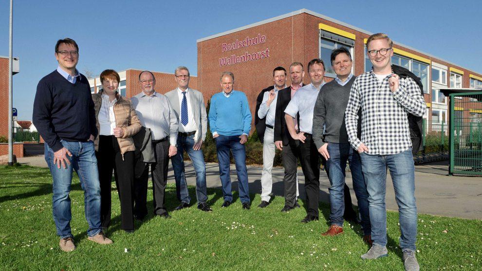 Die Mitglieder der Christlich, Demokratisch für Wallenhorst im Landkreis Osnabrück Wählergruppe e. V. Foto: CDW/W