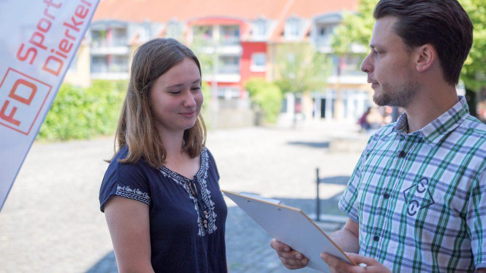 Im August vergangenen Jahres wurden die Wallenhorster um ihre Meinung zum Einzelhandel gebeten. Jetzt können sie sich im Rahmen der Öffentlichkeitsbeteiligung zum Entwurf des Einzelhandelskonzeptes äußern. Foto:André Thöle