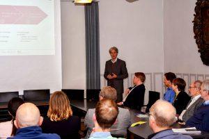 Den Weg datengetriebener Geschäftsmodelle aus der Theorie in die Praxis beleuchtete die Veranstaltung im März in Quakenbrück. Foto: Samtgemeinde Artland